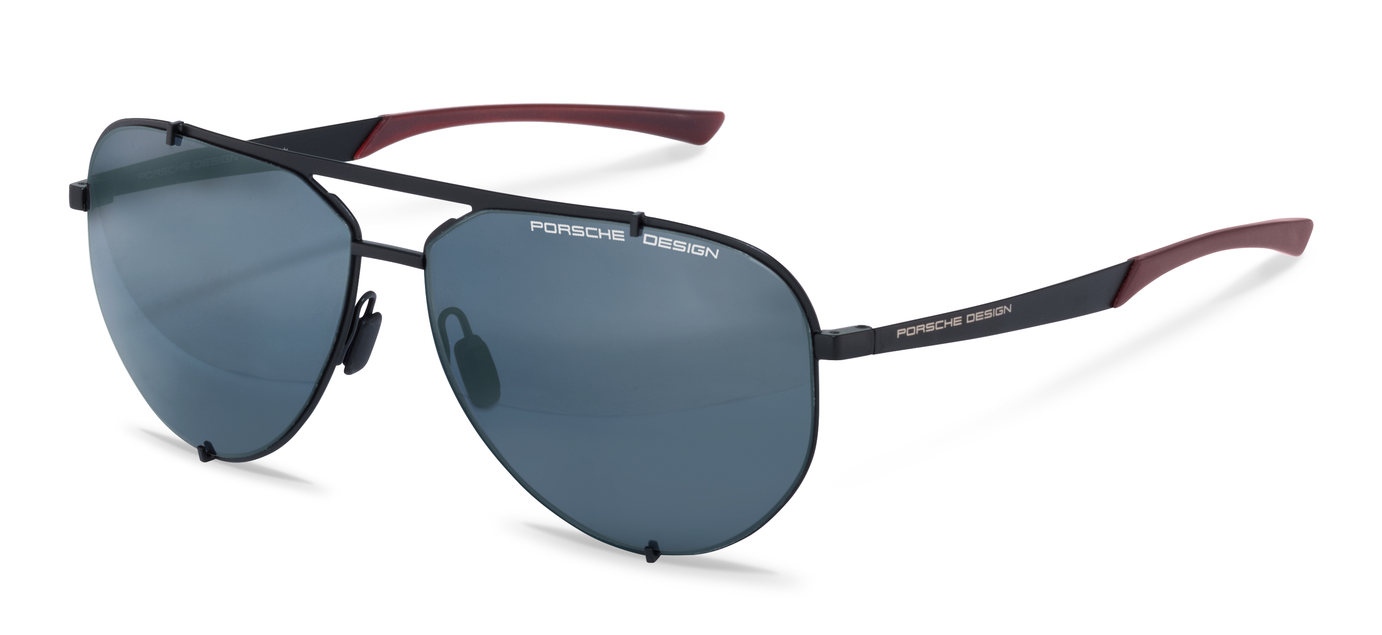 Porsche Design-Sunglasses-P8920-black/darkred