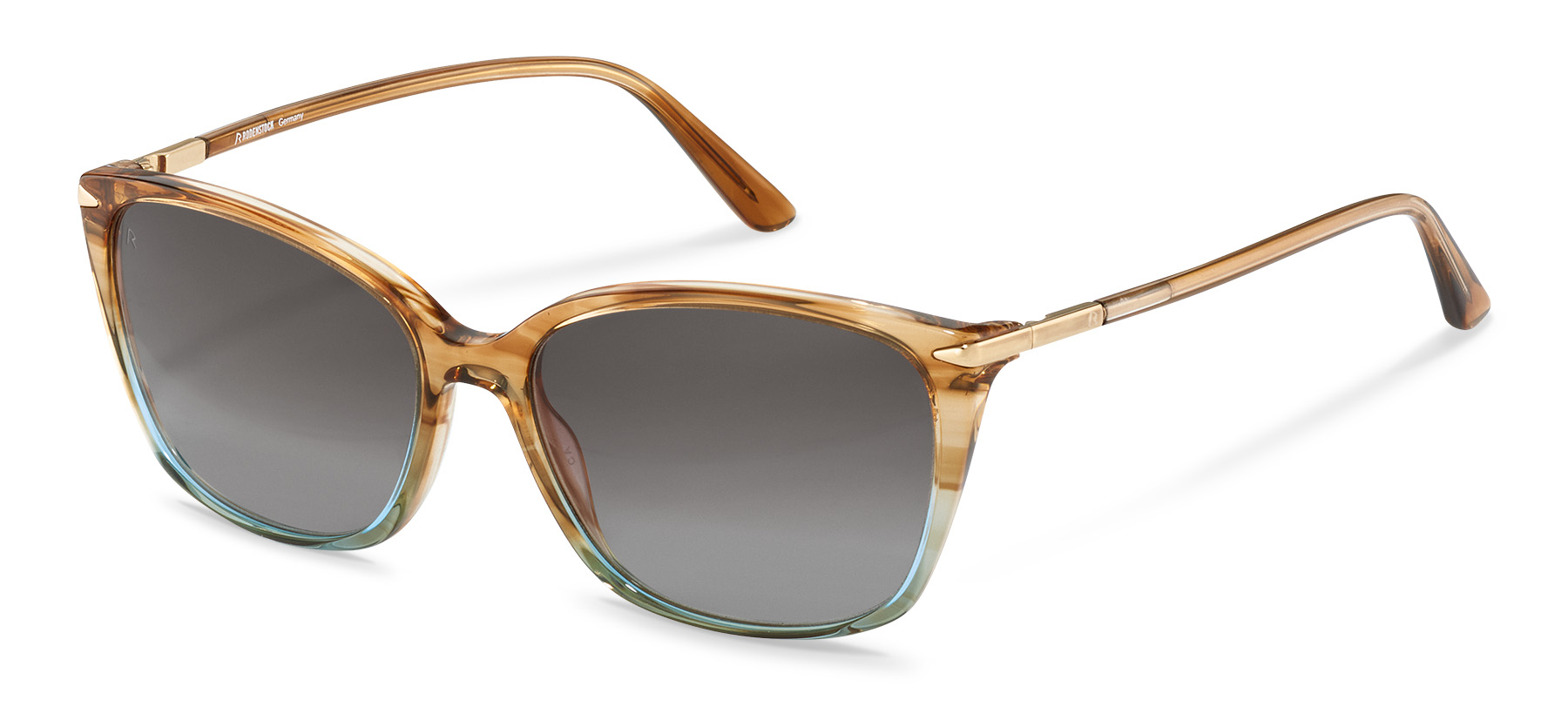 Rodenstock-Sunglasses-R3320-havanagreengradient/gold