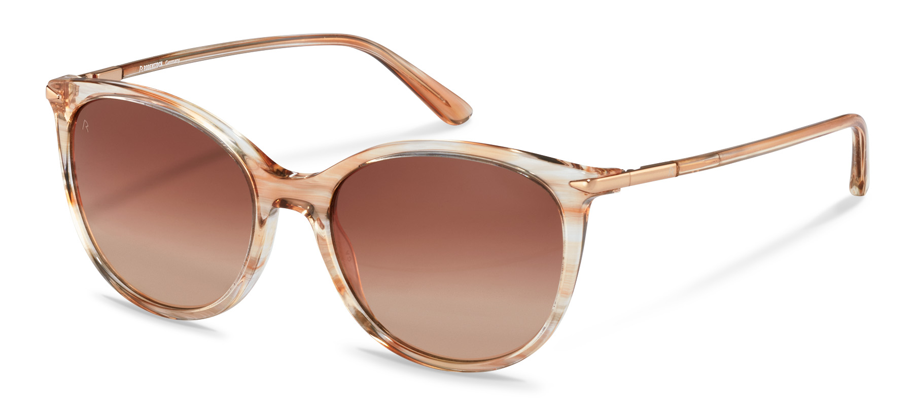 Rodenstock-Sunglasses-R3322-rosestructured/rosegold