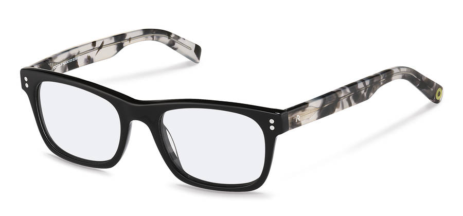 Rodenstock Capsule Collection-Occhiali da vista-RR420-black/whitehavana