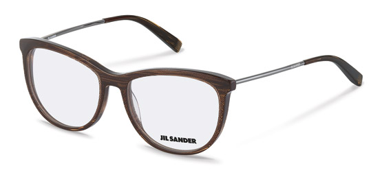 Jil Sander-Correction frame-J4012-black, rosé gold