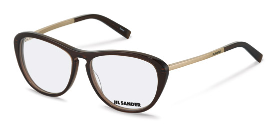 Jil Sander-Correction frame-J4013-black, silver