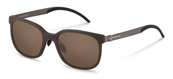 Mercedes-Benz Style-Lunettes de soleil-M7005-dark brown structured brushed, brown