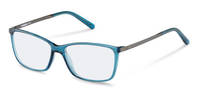 Rodenstock-Briller-R5314-blue transparent, dark gun