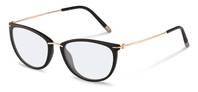Rodenstock-Briller-R7070-black, rose gold