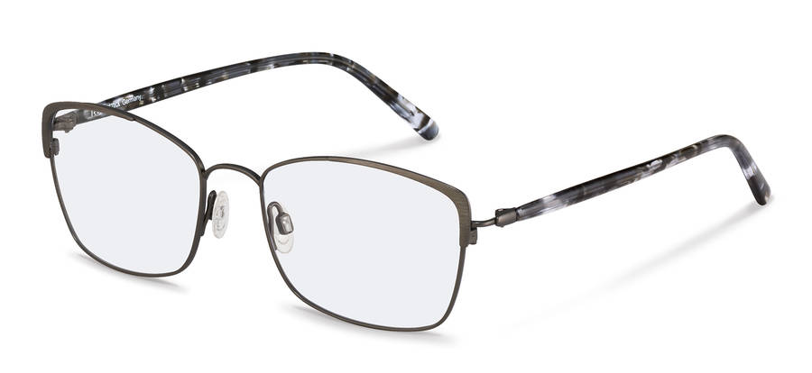 Rodenstock-Briller-R7087-gunmetal/blackstructured