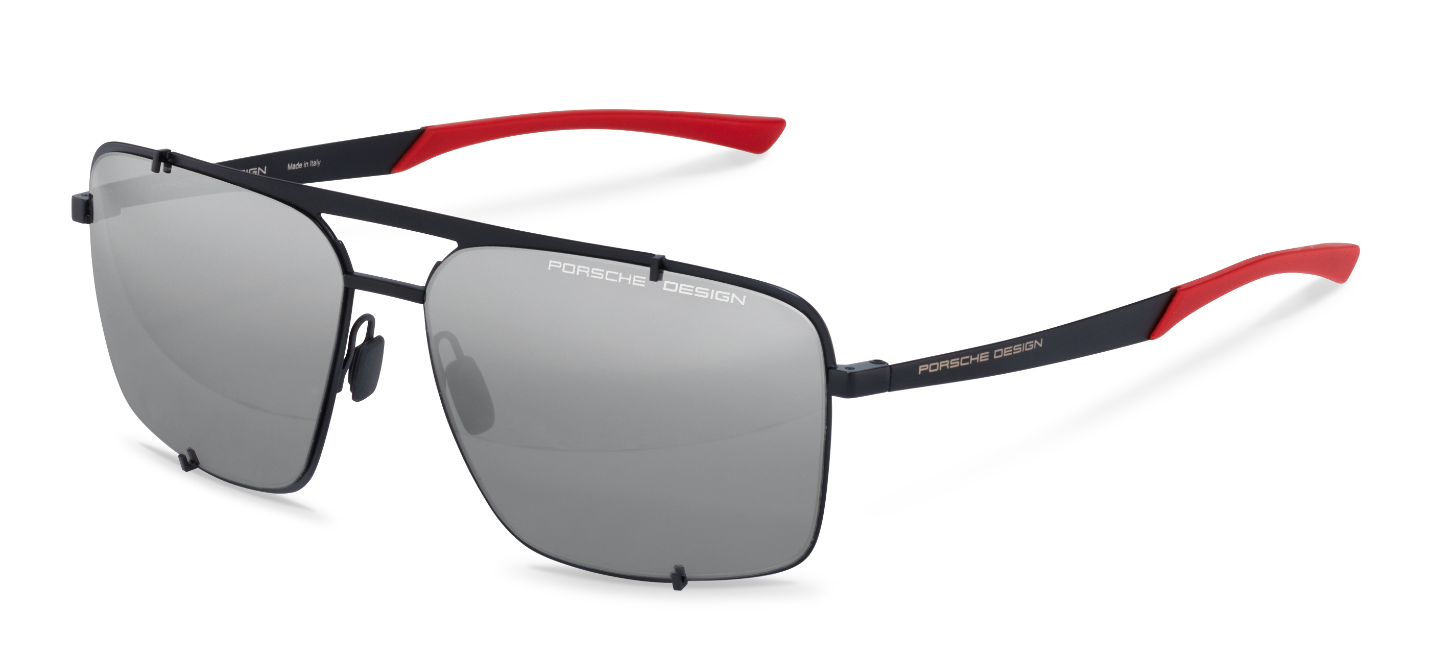 Porsche Design-Óculos de sol-P8919-black/red
