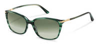 Rodenstock-Óculos de sol-R3320-greenstructured/gold