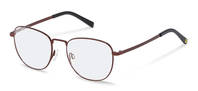 Rodenstock Capsule Collection-Armações de correção-RR222-darkred/black