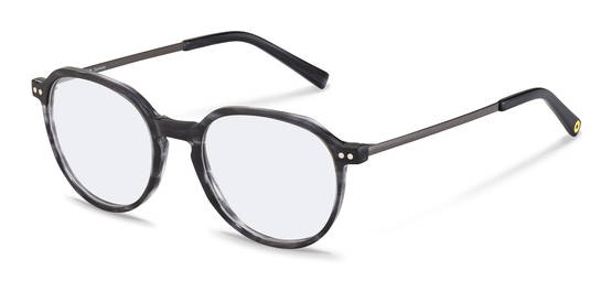Rodenstock Capsule Collection-Armações de correção-RR461-darkgreystructured/darkgun