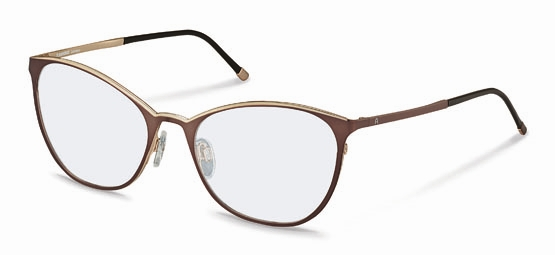 Rodenstock-Correction frame-R2568-chocolate, rose gold