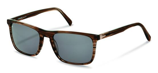 Rodenstock-Solbriller-R3288-brown structured