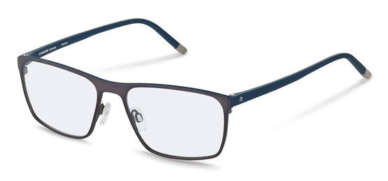 Rodenstock-Correction frame-R7031-dark gun, dark blue