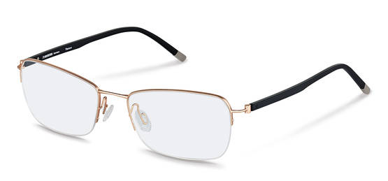 Rodenstock-Correction frame-R7036-rose gold, black