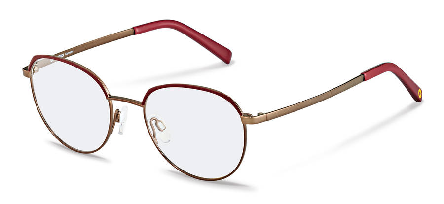 Rodenstock Capsule Collection-Коррекционные оправы-RR219-darkred/copper