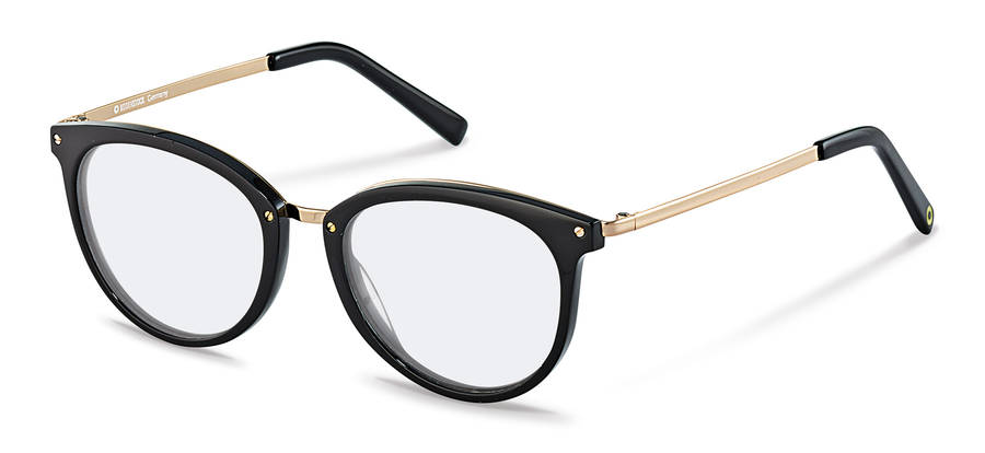 Rodenstock Capsule Collection-Коррекционные оправы-RR457-black/gold