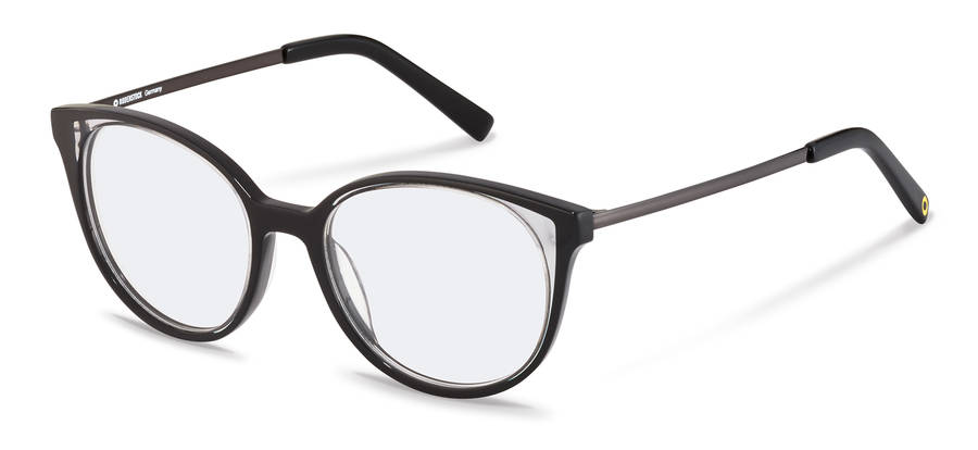 Rodenstock Capsule Collection-Коррекционные оправы-RR462-black/lightgrey/darkgun