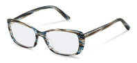 Rodenstock-Коррекционные оправы-R5332-bluebrownstructured