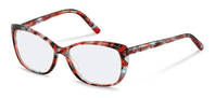 Rodenstock-Коррекционные оправы-R5333-redblackstructured