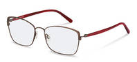 Rodenstock-Коррекционные оправы-R7087-bordeaux/redstructured