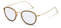 Rodenstock-Коррекционные оправы-R7096-brown/lightgold