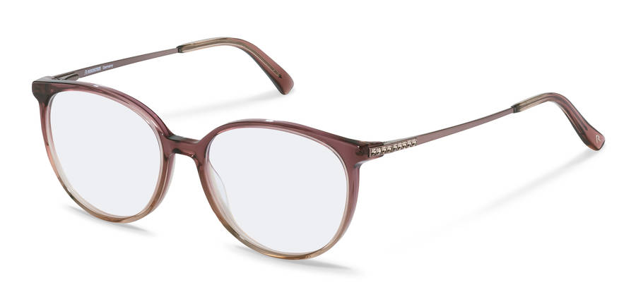 Rodenstock-Коррекционные оправы-R8027-bordeauxbeigegradient/rosegold
