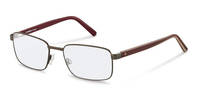 Rodenstock-Коррекционные оправы-R2620-darkgun/redlayered