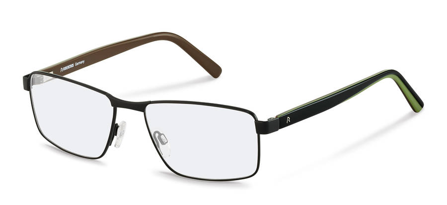 Rodenstock-Коррекционные оправы-R2621-black/blackgreen
