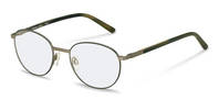 Rodenstock-Коррекционные оправы-R7091-gunmetal/green
