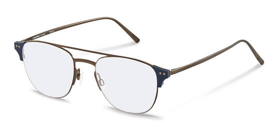 Rodenstock-Коррекционные оправы-R7097-darkgun/darkblue