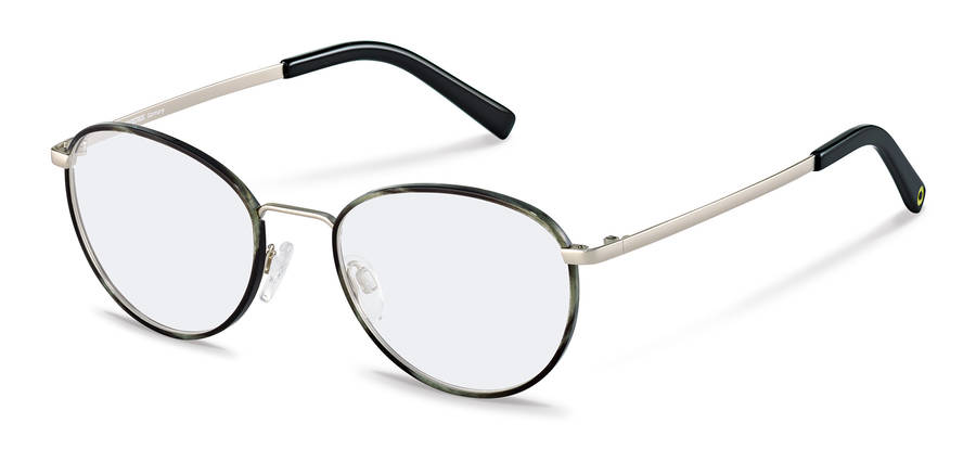 Rodenstock Capsule Collection-Коррекционные оправы-RR217-greystructured/silver