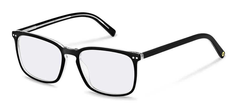 Rodenstock Capsule Collection-Коррекционные оправы-RR448-blackcrystallayered