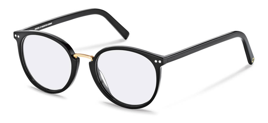 Rodenstock Capsule Collection-Коррекционные оправы-RR454-black/gold