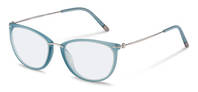 Rodenstock-Коррекционные оправы-R7070-light blue, light gun