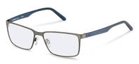 Rodenstock-Коррекционные оправы-R7075-gunmetal, dark blue
