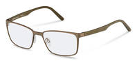 Rodenstock-Korrektionsglasögon-R7076-light brown, olive