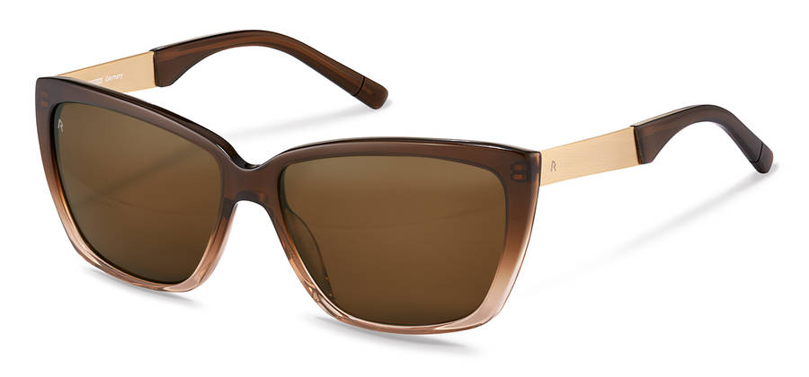 Rodenstock-Solglasögon-R3301-browngradient/gold