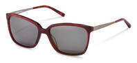 Rodenstock-Solglasögon-R3298-red structured, gunmetal