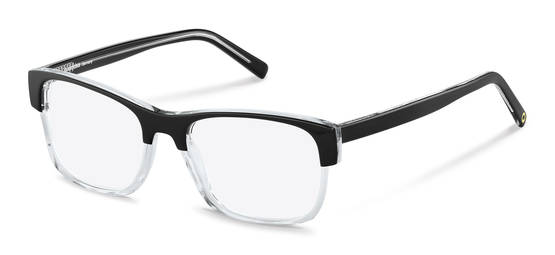 Rodenstock Capsule Collection-กรอบแว่นสายตา-RR458-black/crystal