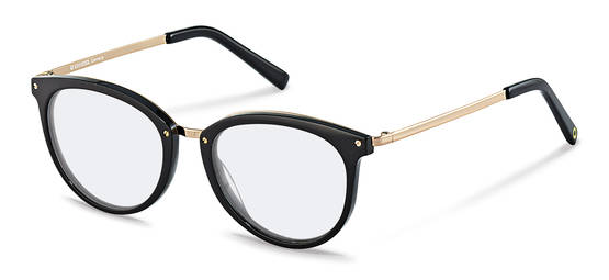 Rodenstock Capsule Collection-กรอบแว่นสายตา-RR457-black/gold