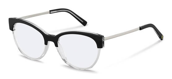 Rodenstock Capsule Collection-กรอบแว่นสายตา-RR459-blackcrystal/silver