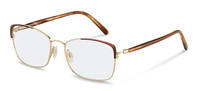 Rodenstock-กรอบแว่นสายตา-R7087-lightgold/brownstructured