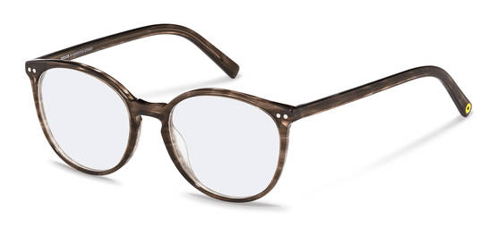 rocco by Rodenstock-กรอบแว่นสายตา-RR450-brownstructured