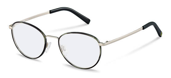 Rodenstock Capsule Collection-กรอบแว่นสายตา-RR217-greystructured/silver